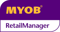 MYOB Retail Manager logo